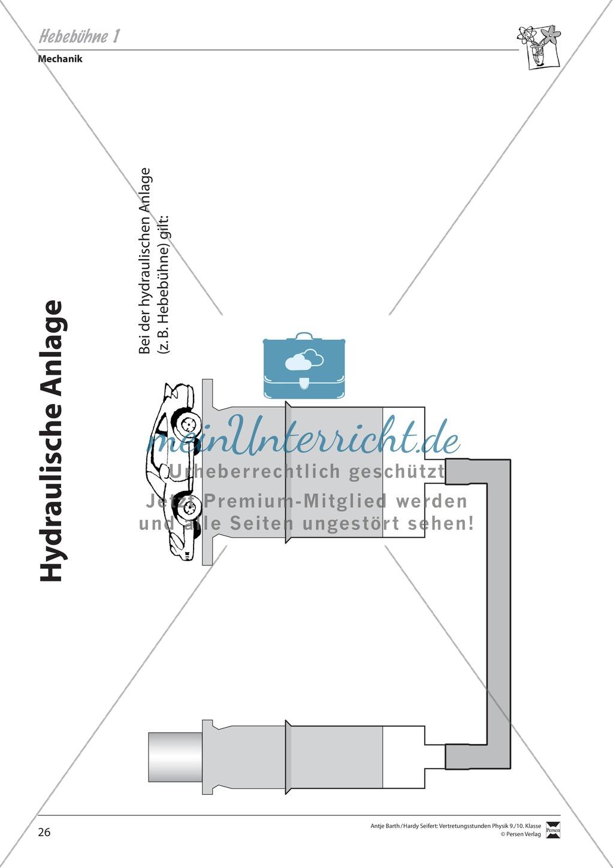 hebeb hne beispiele f r hydraulische anlagen werte. Black Bedroom Furniture Sets. Home Design Ideas