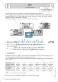 Mathematik, Zahlen & Operationen, Arithmetik, geldwerte, sachaufgaben, Geld