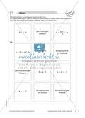 Geometrie: Memory-Spiel zu Flächeninhalt, Umfang und Winkelsumme von geometrischen Figuren Preview 1