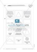 Geometrie: Memory-Spiel zu Flächeninhalt, Umfang und Winkelsumme von geometrischen Figuren Preview 2
