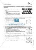Geometrie: Untersuchung von Kristallstrukturen Preview 1
