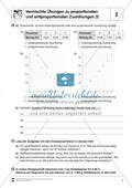 Verschiedene Übungen zu proportionalen und antiproportionalen Zuordnungen Preview 2