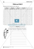 Natürliche Zahlen - Übungen mit der Stellenwerttafel Preview 3