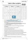 Natürliche Zahlen - Übungen mit der Stellenwerttafel Preview 4