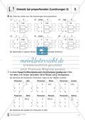 Mathematik, funktionaler Zusammenhang, Zahlen & Operationen, Proportional, Dreisatz, Algebra, arbeitsblätter, proportionale zuordnungen