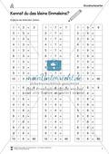 Mathematik, Grundrechenarten, Zahlen & Operationen, Grenzprozesse & Approximation, Multiplikation, natürliche Zahlen, Zahlenreihe
