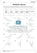 Mathematik, Geometrie, Winkel, Raum & Form, Größen & Messen, zeichnen, Messen
