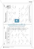 Winkelarten erkennen - spitzer, rechter, stupfer, gestreckter, überstumpfer und Vollwinkel Preview 5