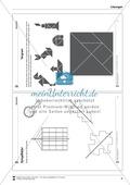 Spielgelbilder - Figuren durch Spiegelung vervollständigen Preview 5