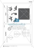 Tangram - verschiedene Figuren aus geometrischen Formen nachlegen Preview 4