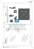 Tangram - verschiedene Figuren aus geometrischen Formen nachlegen Preview 6