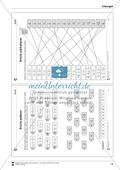 Bruchrechnung: Arbeitsblätter zur Addition und Subtraktion von Brüchen. Mit Lösungen. Preview 10