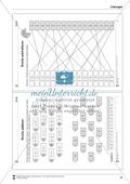 Bruchrechnung: Arbeitsblätter zur Addition und Subtraktion von Brüchen. Mit Lösungen. Preview 7