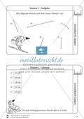 Rechnen mit Größen: Lernzirkel mit einfachen Aufgaben zum Rechnen mit Längeneinheiten Preview 3