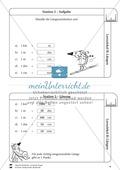 Rechnen mit Größen: Lernzirkel mit einfachen Aufgaben zum Rechnen mit Längeneinheiten Preview 4