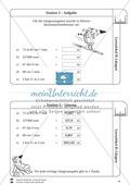 Rechnen mit Größen: Lernzirkel mit einfachen Aufgaben zum Rechnen mit Längeneinheiten Preview 6