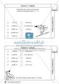 Rechnen mit Größen: Lernzirkel mit einfachen Aufgaben zum Rechnen mit Längeneinheiten Preview 7