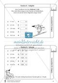 Rechnen mit Größen: Lernzirkel mit einfachen Aufgaben zum Rechnen mit Längeneinheiten Preview 9