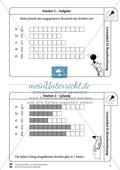 Bruchrechnung: Lernzirkel zur Wiederholung und Festigung der Bruchrechnung Preview 3