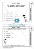 Bruchrechnung: Lernzirkel zur Wiederholung und Festigung der Bruchrechnung Preview 8