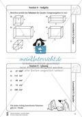 Geometrie: Wiederholung und Festigung der geometrischen Figur Quader Preview 10