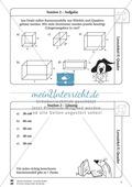 Geometrie: Wiederholung und Festigung der geometrischen Figur Quader Preview 3