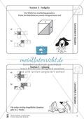 Geometrie: Wiederholung und Festigung der geometrischen Figur Quader Preview 6