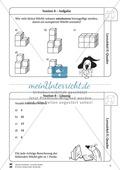 Geometrie: Wiederholung und Festigung der geometrischen Figur Quader Preview 9