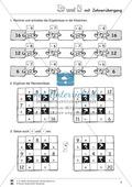 Rechenmauern und Rechenrätsel: Plus und Minus im Zahlenraum bis 20 mit Zehnerübergang wiederholen und festigen Preview 6