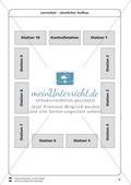 Lernzirkel zu Winkeln: Winkelarten, griechische Buchstaben, Winkel messen und zeichnen, Winkel an Uhr und Windrose Preview 16