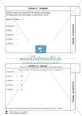 Lernzirkel zu Winkeln: Winkelarten, griechische Buchstaben, Winkel messen und zeichnen, Winkel an Uhr und Windrose Preview 3