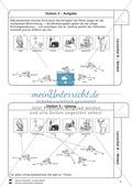 Lernzirkel zu Winkeln: Winkelarten, griechische Buchstaben, Winkel messen und zeichnen, Winkel an Uhr und Windrose Preview 6