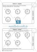 Lernzirkel zu Winkeln: Winkelarten, griechische Buchstaben, Winkel messen und zeichnen, Winkel an Uhr und Windrose Preview 7