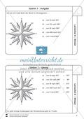 Lernzirkel zu Winkeln: Winkelarten, griechische Buchstaben, Winkel messen und zeichnen, Winkel an Uhr und Windrose Preview 8