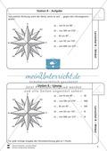 Lernzirkel zu Winkeln: Winkelarten, griechische Buchstaben, Winkel messen und zeichnen, Winkel an Uhr und Windrose Preview 9