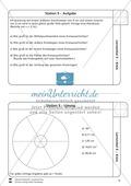 Geometrische Formen: Lernzirkel zum Kreis Preview 10