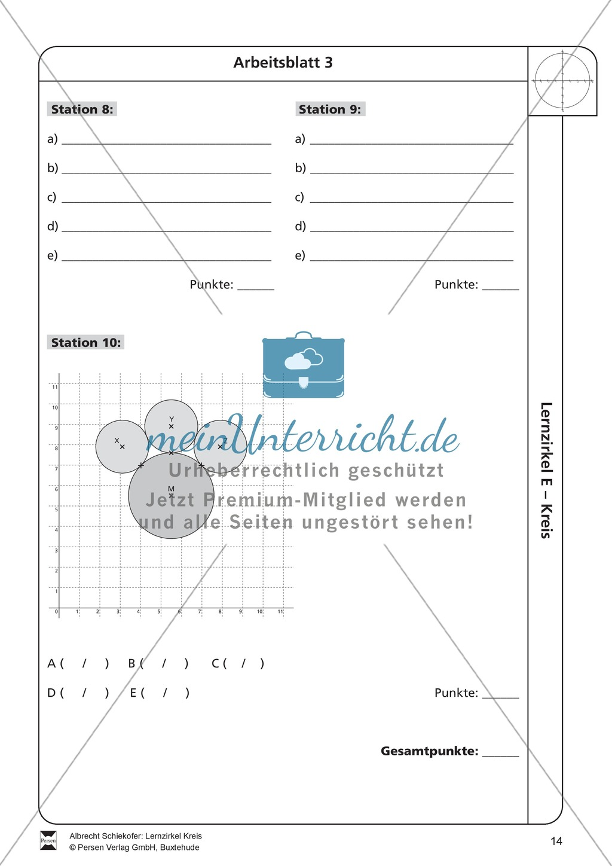 Unique Kreis Arbeitsblatt Kindergarten Ensign - Kindergarten ...