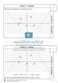Lernzirkel zu Grundlagen der Geometrie: Koordinatensystem, Spiegelung, Senkrechten und Parallelen, optische Täuschungen Preview 3