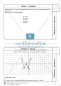 Lernzirkel zu Grundlagen der Geometrie: Koordinatensystem, Spiegelung, Senkrechten und Parallelen, optische Täuschungen Preview 4