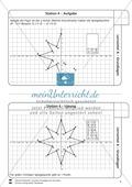 Lernzirkel zu Grundlagen der Geometrie: Koordinatensystem, Spiegelung, Senkrechten und Parallelen, optische Täuschungen Preview 5