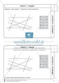 Lernzirkel zu Grundlagen der Geometrie: Koordinatensystem, Spiegelung, Senkrechten und Parallelen, optische Täuschungen Preview 8