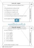 Lernzirkel Subtraktion: Fachausdrücke, Ergänzungen, Vorgänger, Stellenwerttafel, Terme aufstellen Preview 9