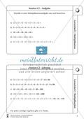 Lernzirkel Multiplikation: Fachausdrücke, Vielfache, Kommasetzen, Primfaktorenzerlegung, Einheiten umrechnen Preview 3