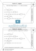 Lernzirkel Multiplikation: Fachausdrücke, Vielfache, Kommasetzen, Primfaktorenzerlegung, Einheiten umrechnen Preview 4