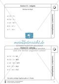 Lernzirkel Multiplikation: Fachausdrücke, Vielfache, Kommasetzen, Primfaktorenzerlegung, Einheiten umrechnen Preview 6