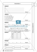 Lernzirkel Division: Fachausdrücke, Teilbarkeit, Division von Zehnerzahlen, Maßstab Preview 12