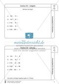 Lernzirkel Division: Fachausdrücke, Teilbarkeit, Division von Zehnerzahlen, Maßstab Preview 4