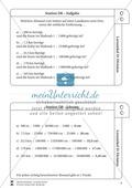 Lernzirkel Division: Fachausdrücke, Teilbarkeit, Division von Zehnerzahlen, Maßstab Preview 9