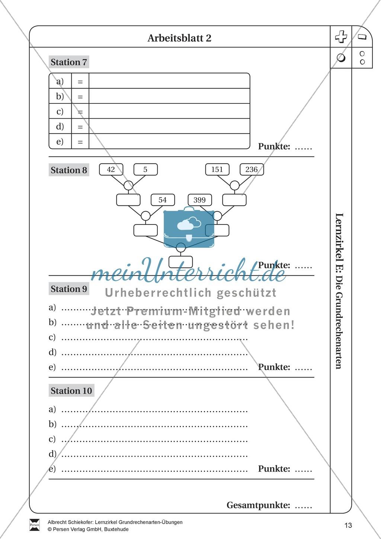punkt vor strich rechnung genug punkt vor strichrechnung klasse 4 db36 messianica lernzirkel. Black Bedroom Furniture Sets. Home Design Ideas