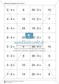 Mathematik, Zahlen & Operationen, Grundrechenarten, Arithmetik, Multiplikation, Division, Einmaleins